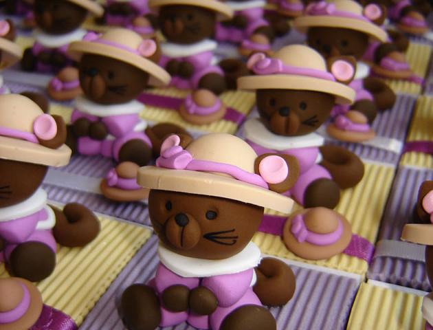 Boîtes à dragées chats et leurs chapeaux