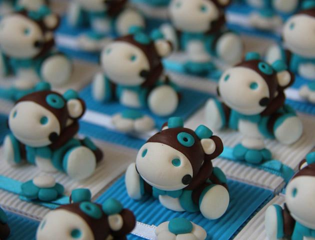 Boîtes à dragées doudous vaches