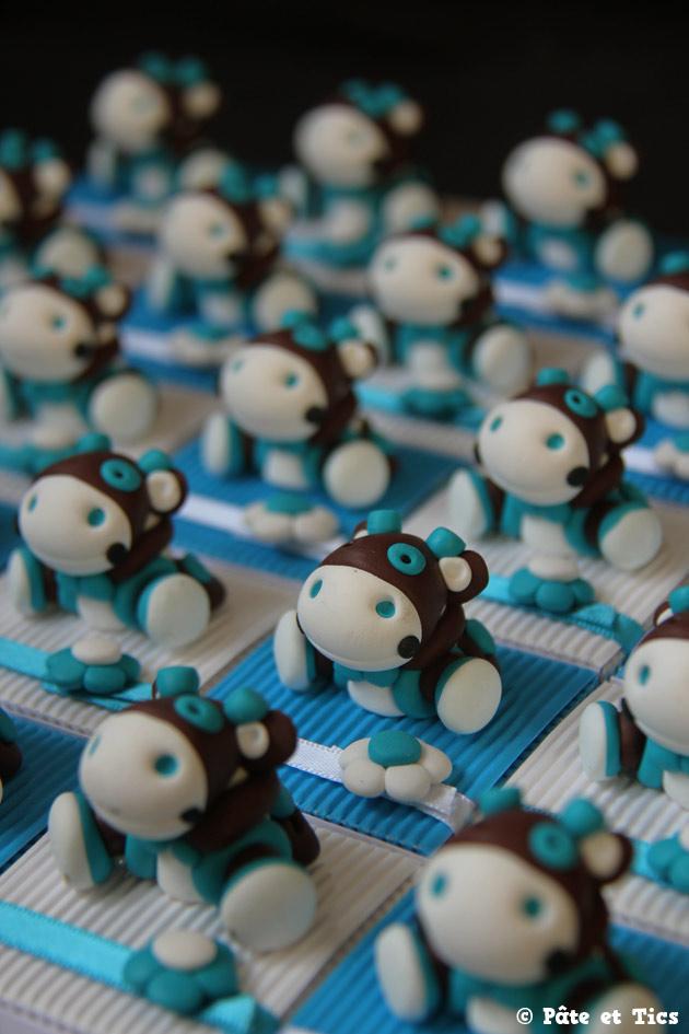 Boîtes à dragées doudous peluches vaches