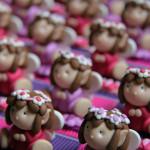 Boîtes à dragées petites filles elfes