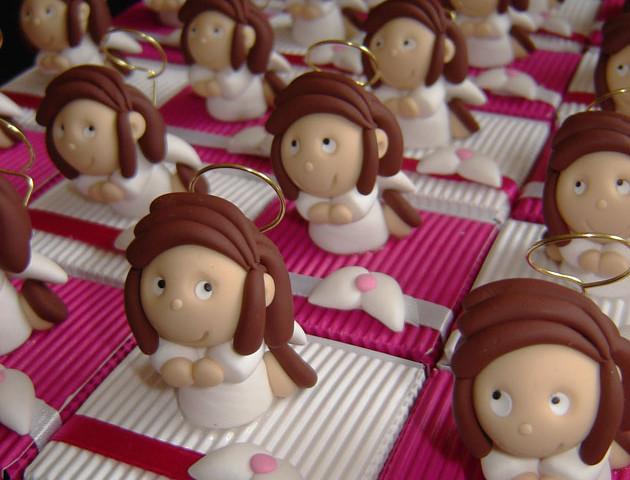 Boîtes à dragées filles anges