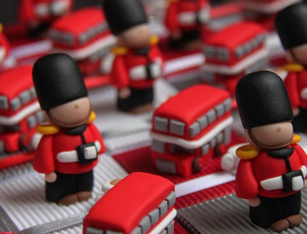 Boîtes à dragées Londres Angleterre