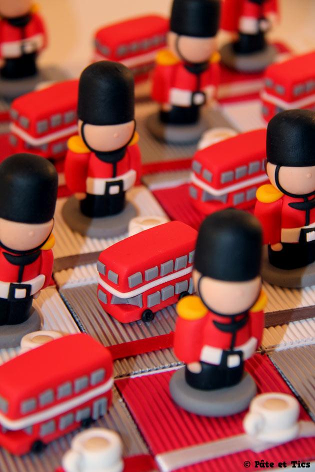 Boîtes à dragées thème Londres Angleterre