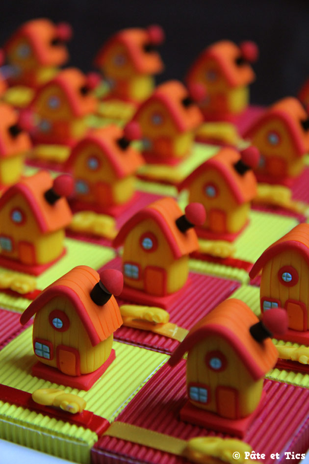 Boîtes à dragées maisons