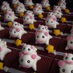 Boîtes à dragées chats nekokoneko thème Japon