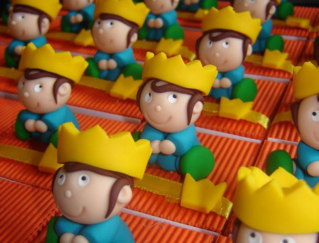 Boîtes à dragées petits rois