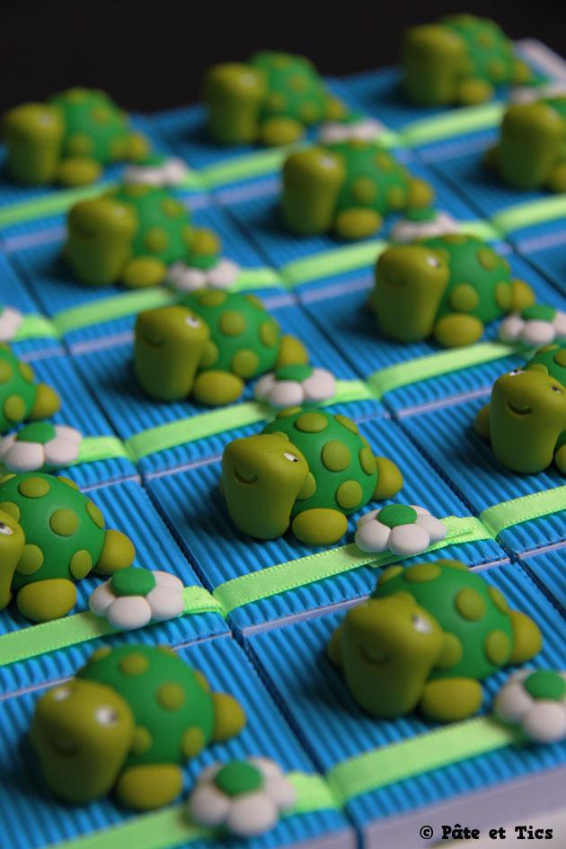 Boîtes à dragées tortues