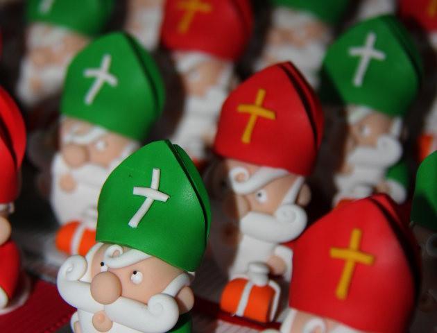 Boîtes à chocolats Saint Nicolas