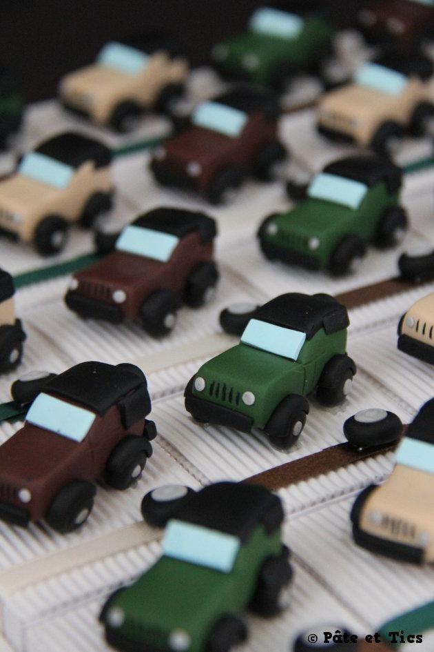 Boîtes à dragées voitures 4x4