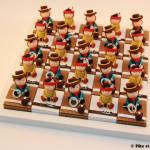 Boîtes à dragées cowboys et indiens thème Amérique far west