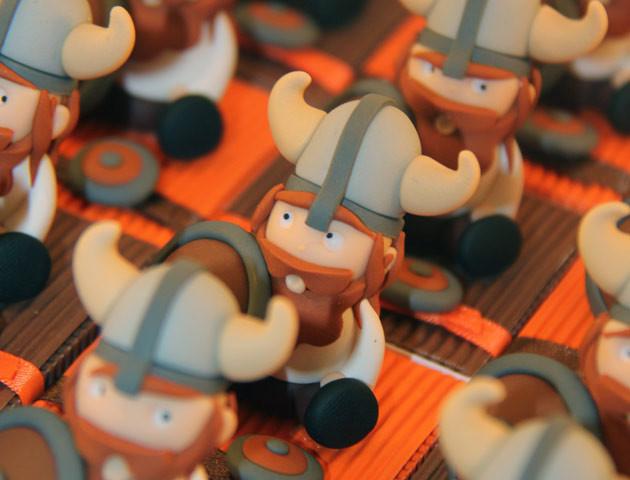 Boîtes à dragées vikings