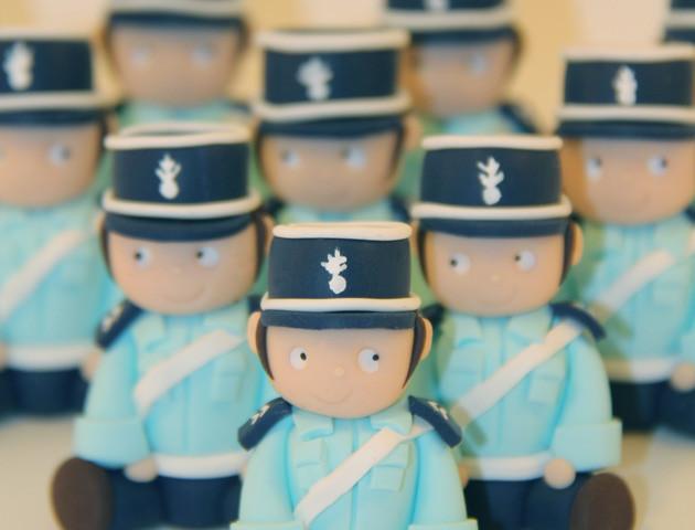 Petits sujets gendarmes