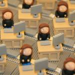Boîtes à dragées employées de bureau