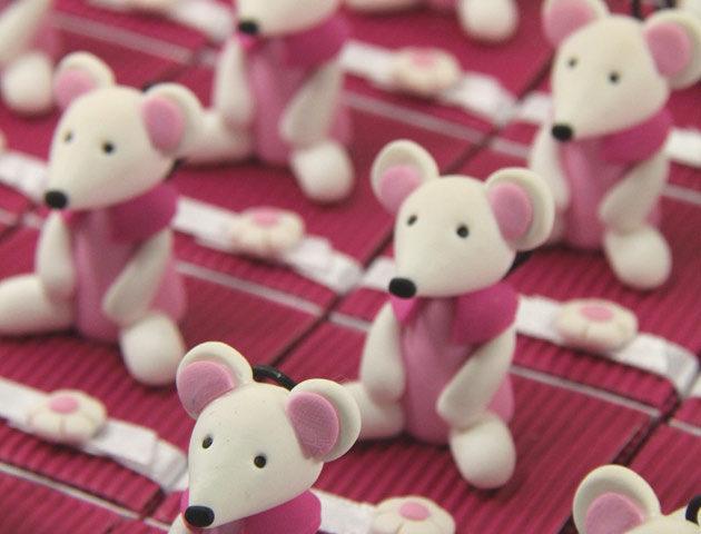 Boîtes à dragées souris