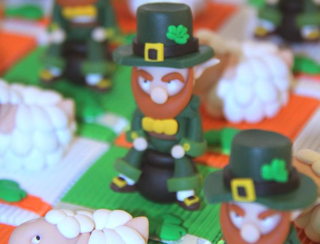 Boîtes à dragées thème Irlande