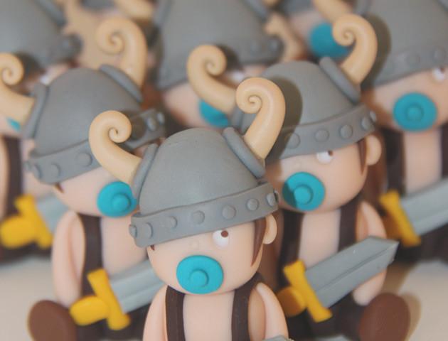 Petits sujets bébés vikings