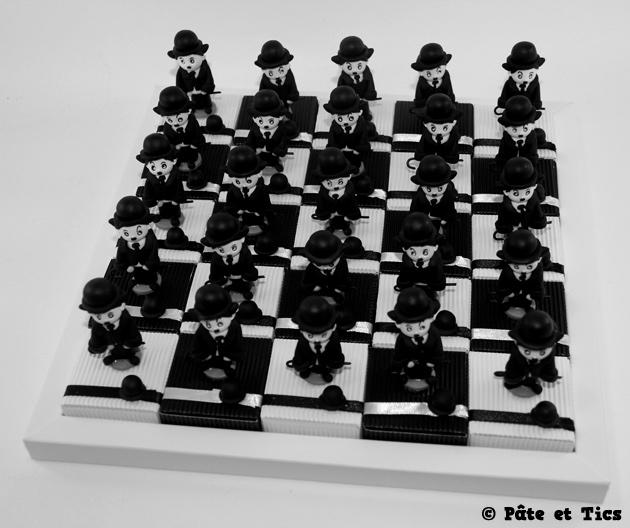 Boîtes à dragées Charlie Chaplin 04