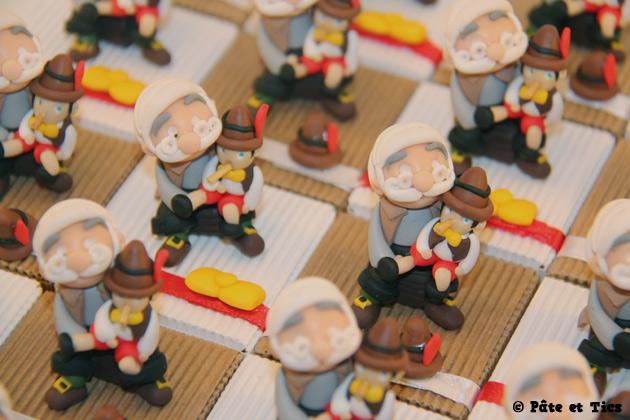 Boîtes à dragées Gepetto et Pinocchio 02
