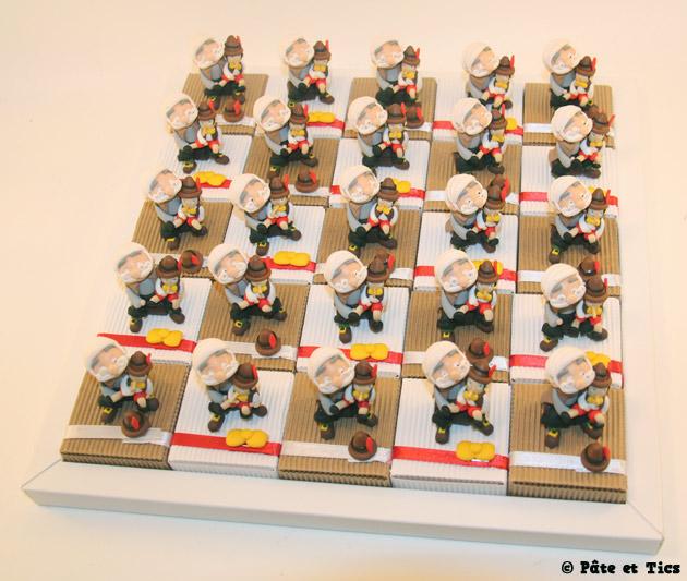 Boîtes à dragées Gepetto et Pinocchio 04