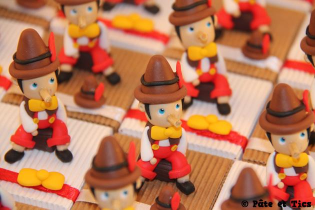 Boîtes à dragées Pinocchio 02