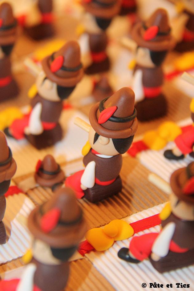 Boîtes à dragées Pinocchio 03