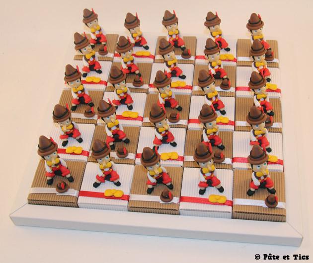 Boîtes à dragées Pinocchio 04