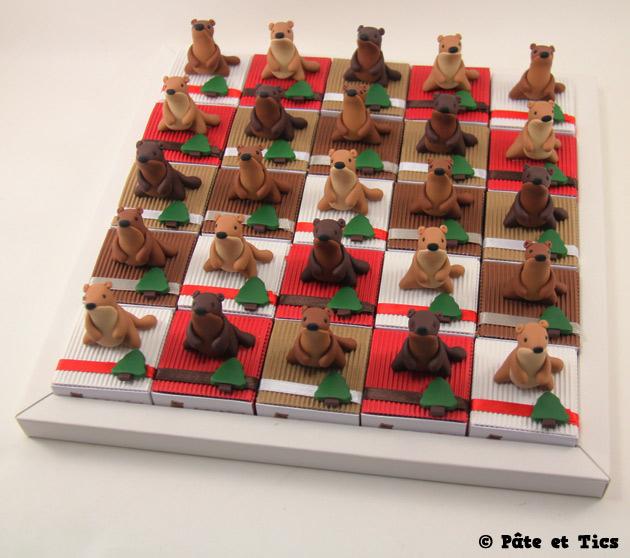 Boîtes à dragées marmottes
