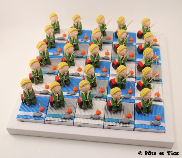 Boîtes à dragées pêcheurs
