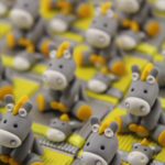 Boîtes à dragées doudous ânes