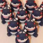 Boîtes à dragées peluches doudous hippopotames
